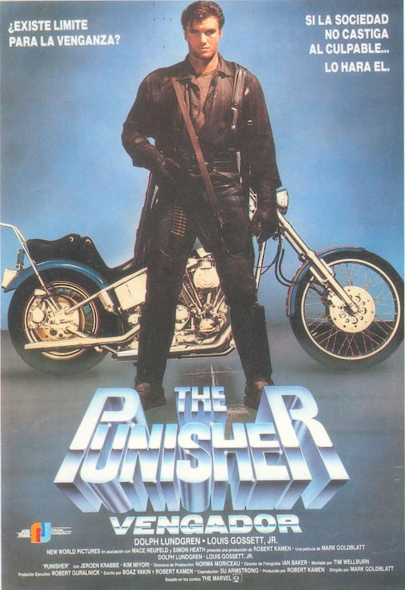 The Punisher (Vengador) 1989 Punisher_spain