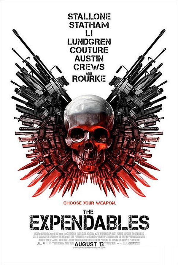 The Expendables (Los Mercenarios) 2010 Expendables_poster