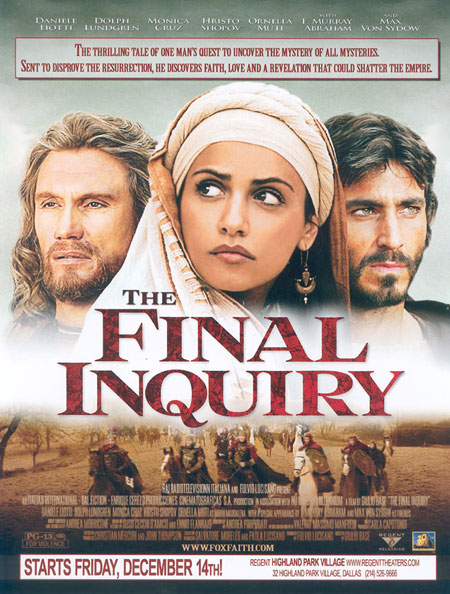 The Inquiry (En Busca De La Tumba De Cristo) 2006 TFI_US_theatrical